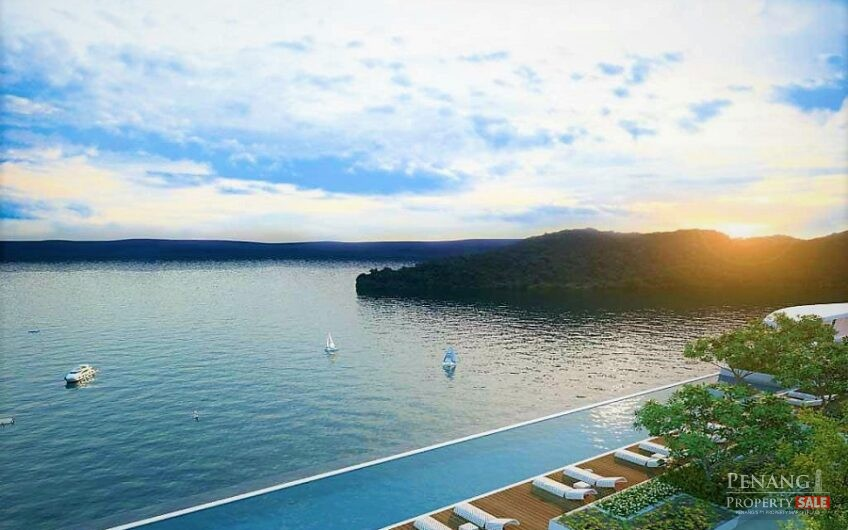 Penang Island, Queensbay, QuayWest Residence, Luxury Waterfront Serviced Apartment (1,246sf)