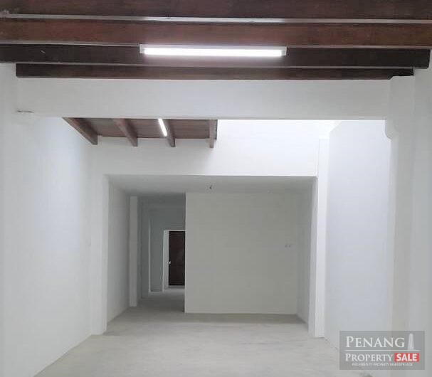 Heritage Double Storey Shop Lot @ Georgetown FOR RENT