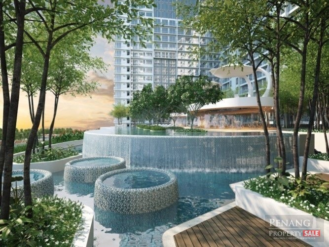 QuayWest Residence_Sky Infinity Pool_槟州世界城_Walking Distance To Queensbay Mall