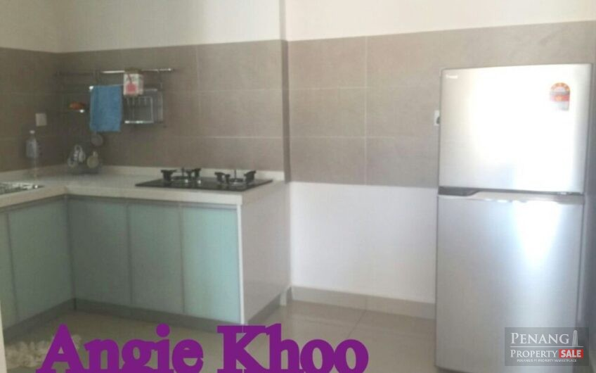 Fully furnished and renovated Gardens Ville at Sungai Ara 1115sqft