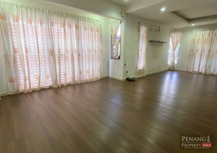 Bayu mutiara semi D house for sale| fully renovated and spacious