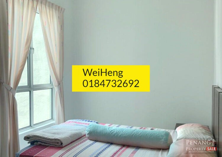 Elit Height fully furnished high floor for rent in bayan lepas